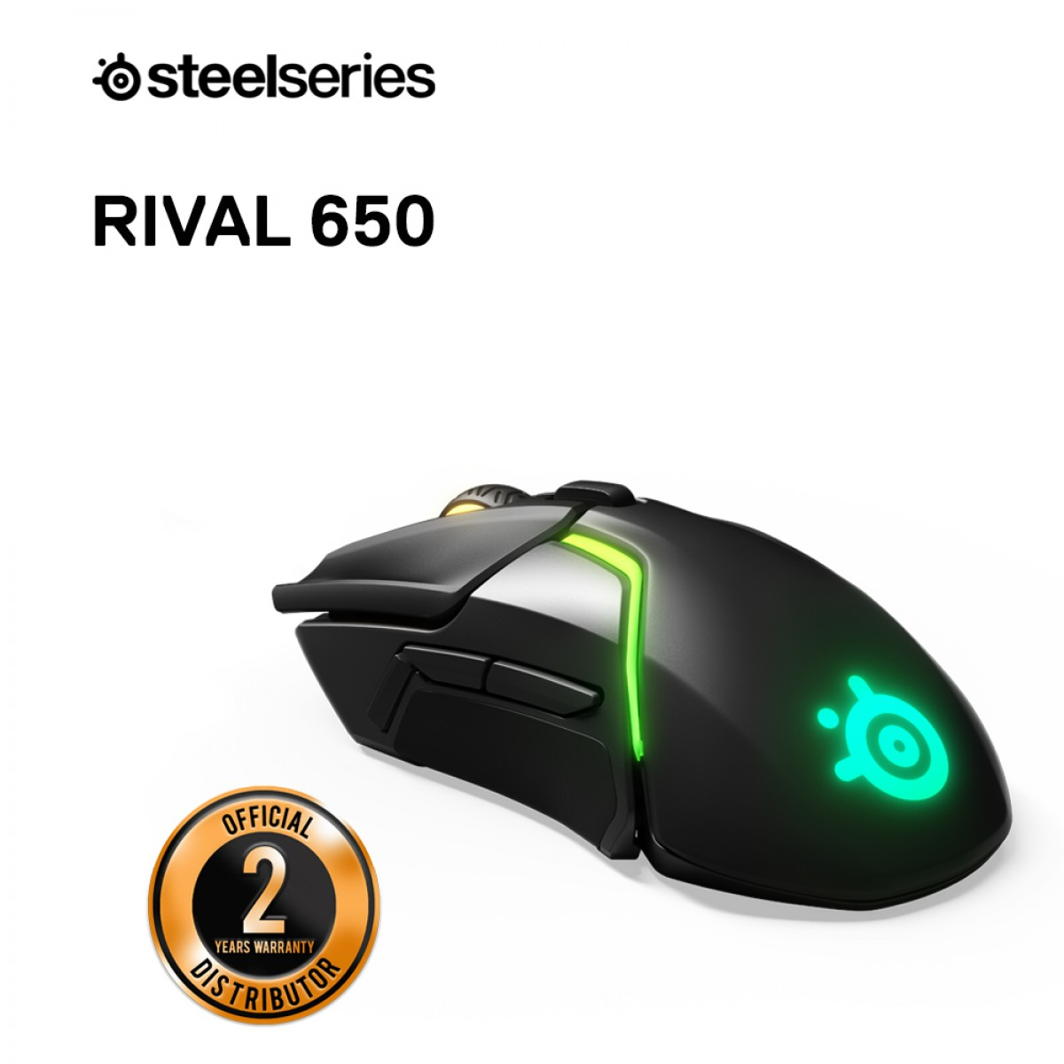 SteelSeries Rival 650 Wireless Gaming Mouse - Gaming - E