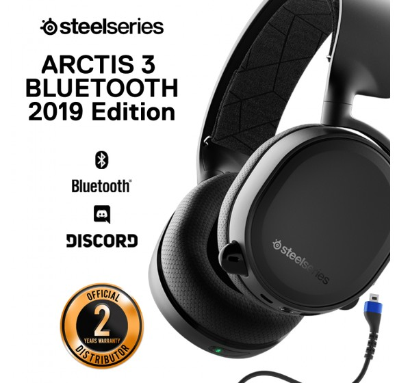 SteelSeries Arctis 3 Bluetooth 7.1 DTS Headphone:X (2019 Edition)
