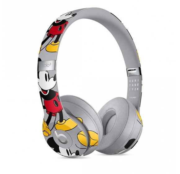 Beats Solo3 Wireless Headphones - Mickey's 90th Anniversary Edition