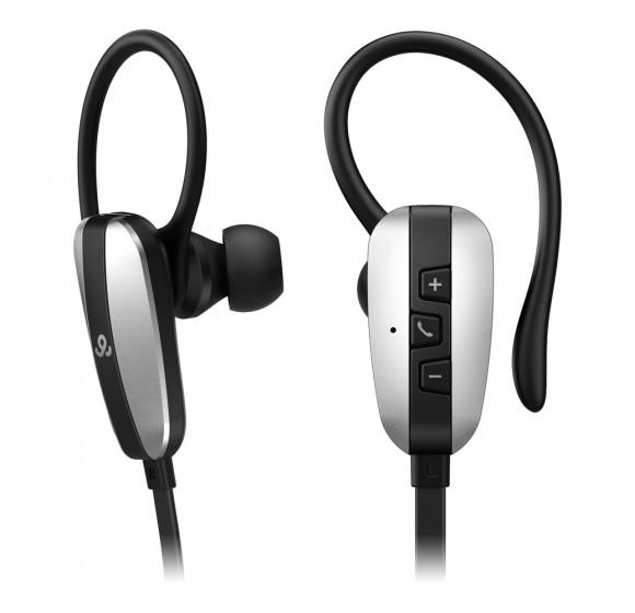 GoGear Freerides, Bluetooth 3.0 Wireless earphones, Black
