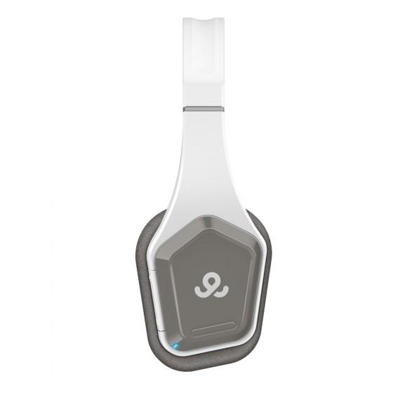 GoGear Easy Rider, Bluetooth 3.0 inward-foldable on-ear headphones, White