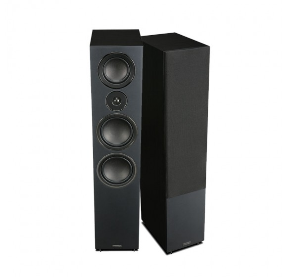 MISSION LX-5 Floorstanding speaker black wood