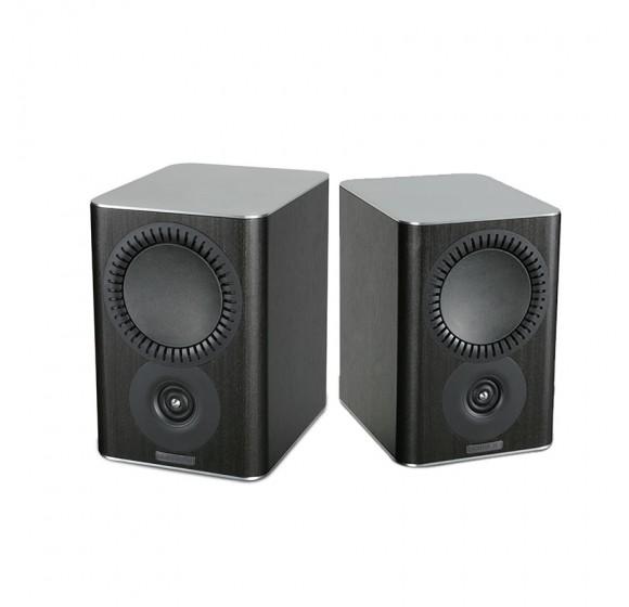 MISSION QX-1 2-way bookshelf speaker black wood