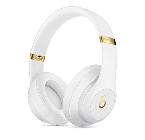 Beats Studio3 Wireless Over-Ear Headphones (White)