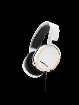 SteelSeries Arctis 5 White (RGB) 7.1 DTS Headphone:x (2019 Edition)