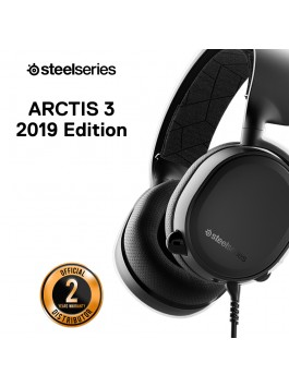 SteelSeries Arctis 3 Black 7.1 DTS Headphone:X (2019 Edition)