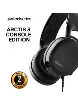 SteelSeries Arctis 3 Console Headphone Black