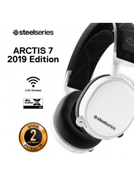 SteelSeries Arctis 7 White 7.1 DTS Headphone:X (2019 Edition)