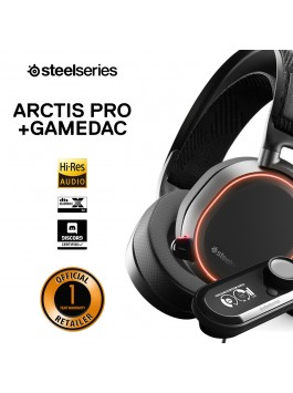 SteelSeries Arctis Pro Headphone + GameDAC