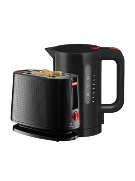 Bodum Electric Kettle + Toaster (Black)