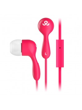 GoGear Tunes, Noise isolating earphones with mic, Red