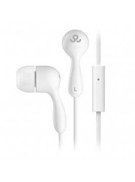 GoGear Tunes, Noise isolating earphones with mic, White