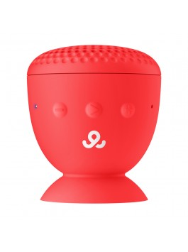 GoGear Splash n' Dash, Wireless portable speaker Bluetooth 4.0, Red