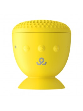 GoGear Splash n' Dash, Wireless portable speaker Bluetooth 4.0, Yellow