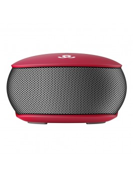 GoGear 3 Way Awesome, Wireless portable Surround Sound speaker Bluetooth 4.0, Red
