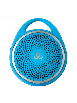 GoGear Double Agent, Wireless portable speaker with Dual Pairing, Bluetooth 3.0, Blue