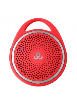 GoGear Double Agent, Wireless portable speaker with Dual Pairing, Bluetooth 3.0, Red