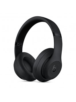 Beats Studio3 Wireless Over-Ear Headphones (Matt Black)