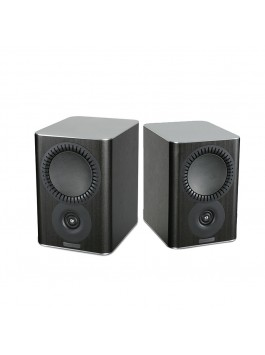 MISSION QX-1 2-way bookshelf speaker black wood