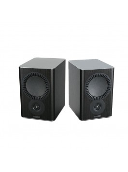 MISSION QX-2 2-way bookshelf speaker black wood