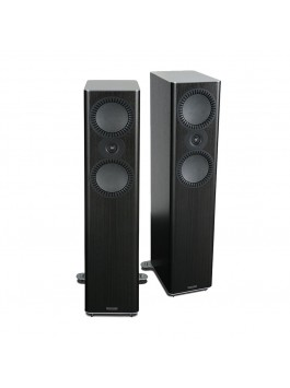 MISSION QX-4 2-way floorstanding speaker black wood