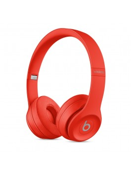 Beats Solo3 Wireless On-Ear Headphone (Citrus Red)