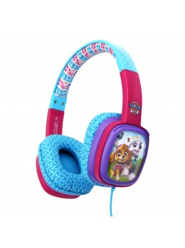 NICKELODEON Paw Patrol Card Headphone - Girls (Pink)