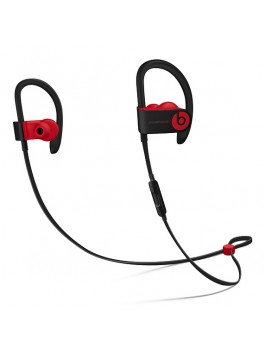 Powerbeats3 Wireless Earphones - Defiant Black-Red