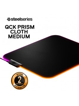SteelSeries QcK Prism Cloth Gaming Mouse Pad (Medium)