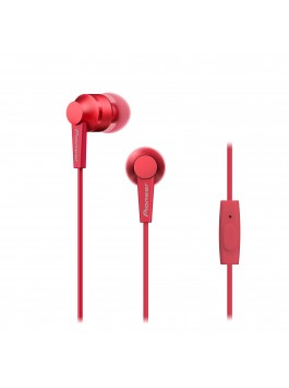 Pioneer SE-C3T-R in-ear headphones(Red)