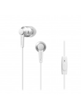 Pioneer SE-C3T-R in-ear headphones(White)