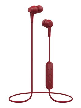 Pioneer SE-C4BT(B) in-ear headphones (Bordeaux red)