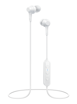 Pioneer SE-C4BT(B) in-ear headphones (All white)