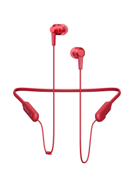 Pioneer SE-C7BT(B) in-ear headphones (Carmine red)