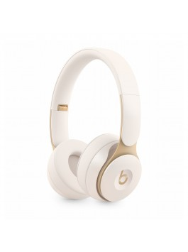Beats Solo Pro Wireless Noise Cancelling Headphones (Ivory)
