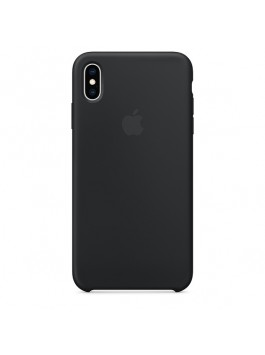 Apple iPhone XS Max Silicone Case (Black)